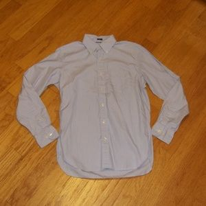 J. Crew Tailored Fit men's small long sleeve shirt